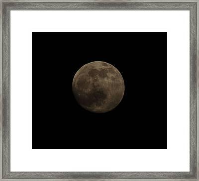 Full Moon Framed Print by Thomas  MacPherson Jr