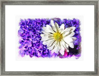 Full Of Life Framed Print by Krissy Katsimbras