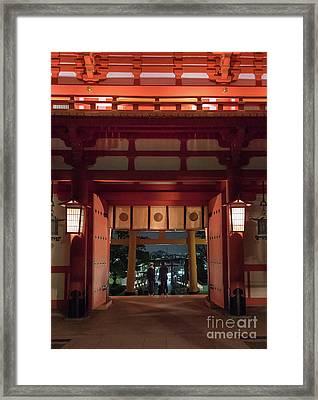 Fushimi Inari Taisha, Kyoto Japan Framed Print