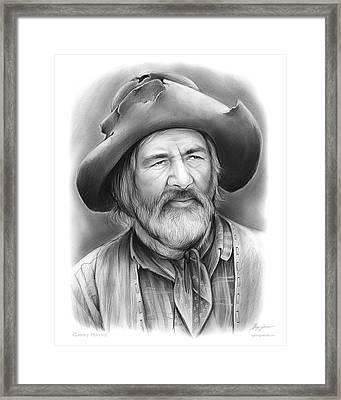 Gabby Hayes Framed Print