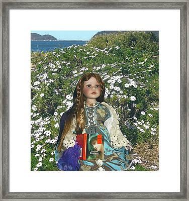 Gabriella Elizabeth Rossetti Framed Print by Adrianne Wood
