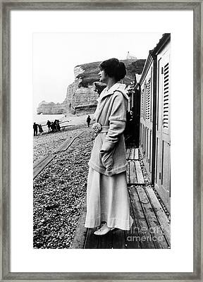 Gabrielle Coco Chanel Framed Print by Granger