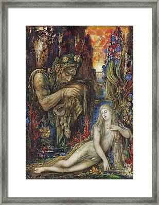 Galathea Framed Print by Gustave Moreau
