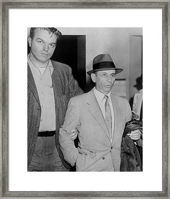 Gambling Boss Meyer Lansky 1902-1983 Framed Print