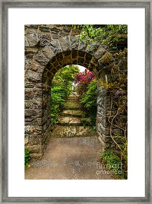 Garden Arch Framed Print