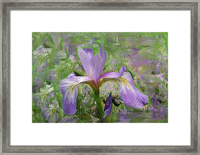 Garden Of Eden Painting  Framed Print by Don  Wright