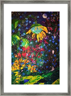 Garden Sanctuary Framed Print