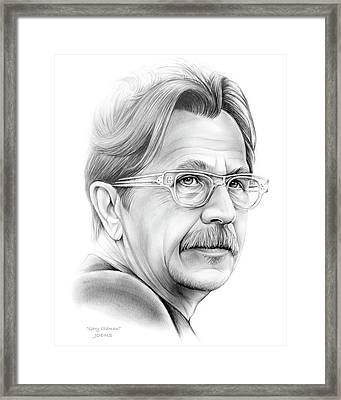Gary Oldman Framed Print by Greg Joens