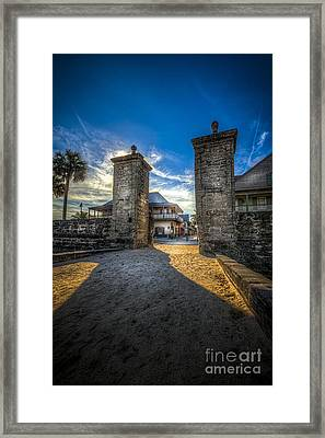 Gate To The City Framed Print by Marvin Spates