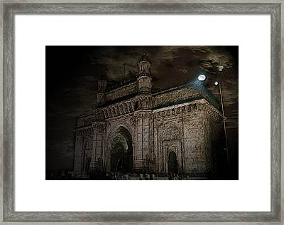 Gate Way Of India Framed Print by Manjot Singh Sachdeva