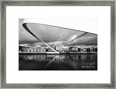 Gateshead Millennium Bridge Framed Print