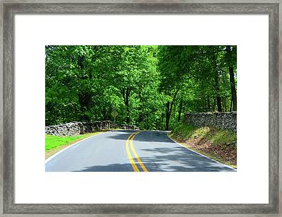 Gathland State Park In Maryland Framed Print by Raymond Salani III