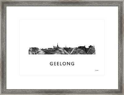 Geelong Australia Skyline  Framed Print by Marlene Watson