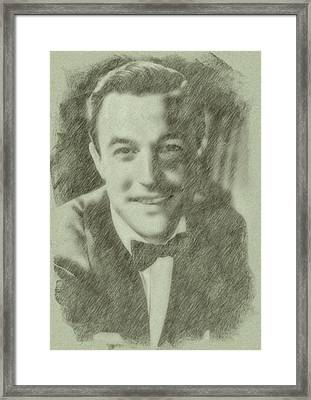 Gene Kelly By John Springfield Framed Print