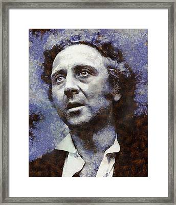 Gene Wilder Hollywood Actor Framed Print