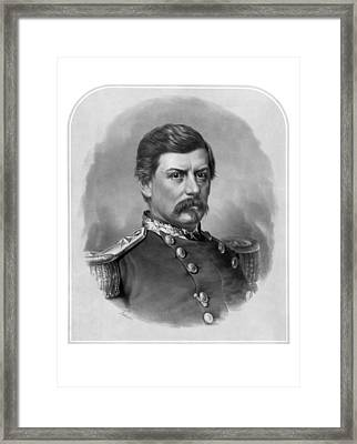 General George Mcclellan Framed Print by War Is Hell Store