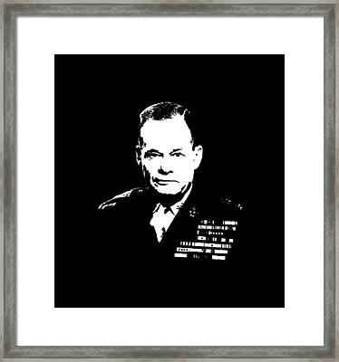 General Lewis Chesty Puller Framed Print