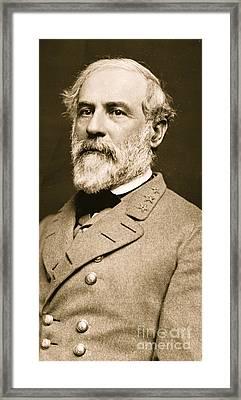General Robert E Lee  Framed Print by American School