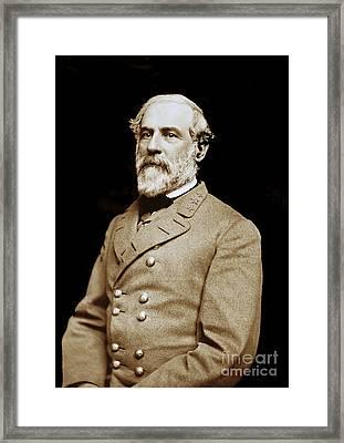 General Robert E Lee - Csa Framed Print