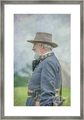 General Robert E. Lee Framed Print by Randy Steele