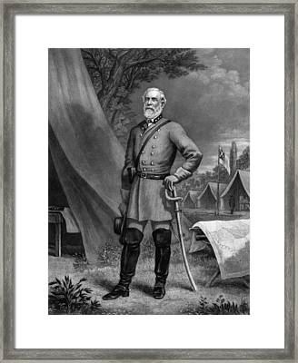 General Robert E. Lee Framed Print