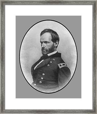 General Sherman Framed Print