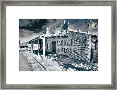 Framed Print featuring the photograph General Store by Wayne Sherriff