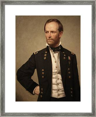 General William Tecumseh Sherman Framed Print