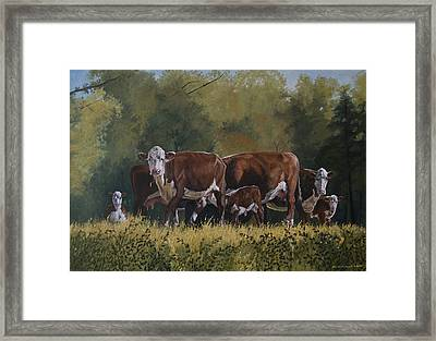 Generations Framed Print by Peter Muzyka