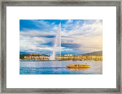 Geneva Framed Print by JR Photography