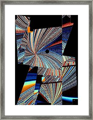 Geometric Abstract 1 Framed Print