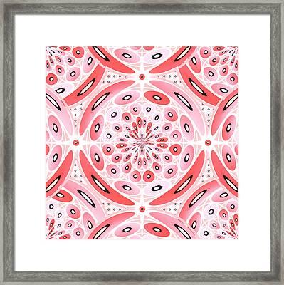 Geometric Harmony Framed Print