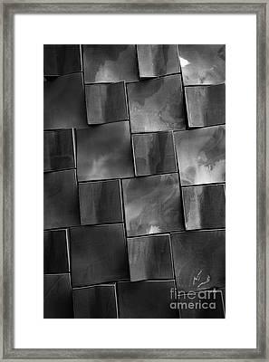 Geometrix Abstract Art Framed Print by Edward Fielding