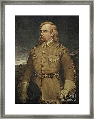 George Armstrong Custer Framed Print by American School