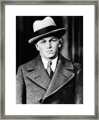 George Baby Face Nelson, Public Enemy Framed Print