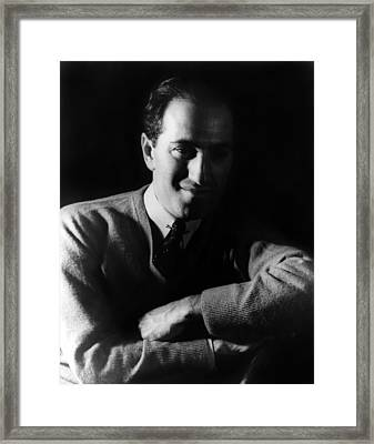 George Gershwin 1898-1937, American Framed Print by Everett