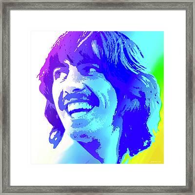George Harrison Framed Print by Greg Joens
