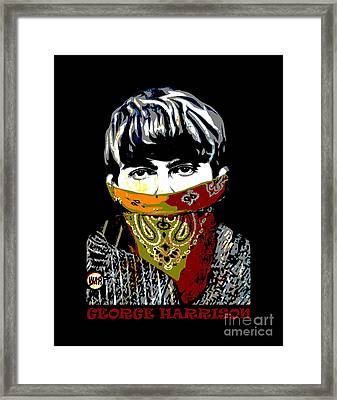 George Harrison Framed Print by RicardMN Photography