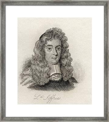George Jeffreys, 1st Baron Of Wem, Aka Framed Print by Vintage Design Pics