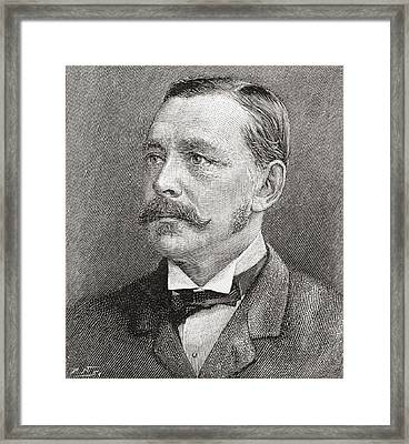 George Robert Canning Harris, 4th Baron Framed Print