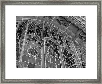 Georgetown University Healy Hall Framed Print by University Icons