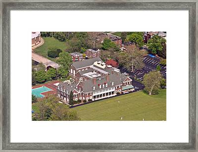 Germantown Cricket Club Framed Print by Duncan Pearson
