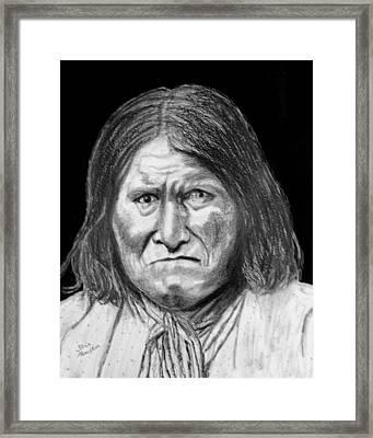 Geronamo Framed Print by Stan Hamilton