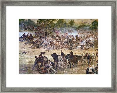 Gettysburg, 1863 Framed Print