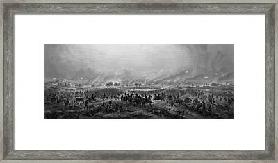 Gettysburg  Framed Print by War Is Hell Store