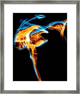 Ghost 5 Framed Print