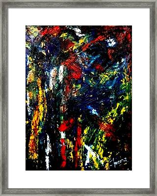 Ghost Of Us Framed Print by Fareeha Khawaja