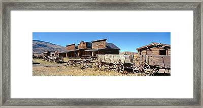 Ghost Town, Cody, Wyoming Framed Print by Panoramic Images