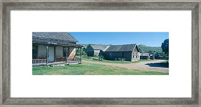 Ghost Town, Nevada City, Montana Framed Print by Panoramic Images