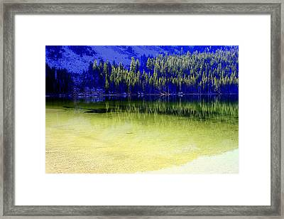 Ghostly Reflections Framed Print
